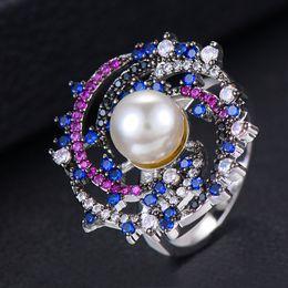 $enCountryForm.capitalKeyWord Australia - GODKI Monaco Design Luxury Statement Stackable Ring For Women Wedding Cubic Zircon Engagement Dubai Punk Bridal Top Finger Rings