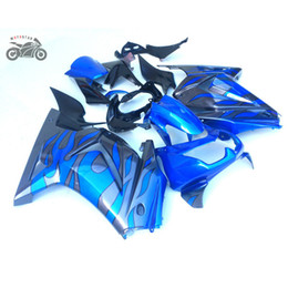 Wholesale ninja motorcycles for sale - Group buy Injection molded fairings set for Kawasaki Ninja R green gray motorcycle ABS plastic Chinese fairing bodywork ZX250R EX250