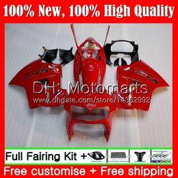Vfr 98 Australia - Bodys For HONDA Interceptor VFR800R VFR800RR 98 99 00 01 Factory red 68MT6 VFR800 VFR 800RR 800 RR 1998 1999 2000 2001 Fairing Bodywork