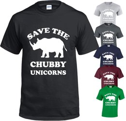 537624341 SAVE THE CHUBBY UNICORN MENS T SHIRT FUNNY KYLIE MODEL JENNER S -5XL TOP T- SHIRT Funny free shipping Unisex Casual gift