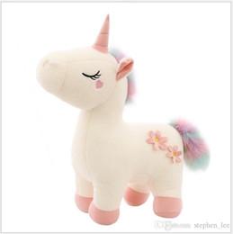 $enCountryForm.capitalKeyWord UK - 2019 New 30cm 40cm 50cm Cute Girls Unicorn Plush Toys Girl Horse Doll Children Dolls Stuffed Plush Animals Doll Kids Christmas Birthday Gift