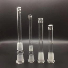 Stems For Bongs Australia - Latest Sale Glass down stem diffuser 14mm to 18mm Male Female Frosted Joint glass down stem for Glass bongs water pipes