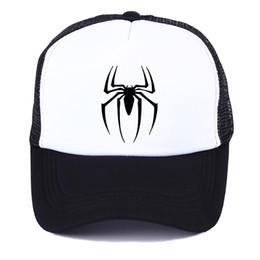 1c46b1d506c 2019 spring marvel hero spider-man personality baseball cap men summer net  hat women breathable fashion shade hat street hip-hop