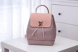 $enCountryForm.capitalKeyWord Australia - Lockme Backpack Twist Lock Design Calf Leather Women Backpack M41816 Business Bags Totes Messenger Bags Softsided Luggage Travel Handbags