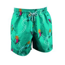 $enCountryForm.capitalKeyWord NZ - Green models Brand Designers Beach Shorts Men Boy Underwear Multicolor Sea Turtle Printed Vilebre Men's Surf Swimming Board Shorts