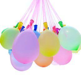 17b1e9358 Látex Globos de agua Bolas 111pcs / set Bomba de agua Bomba Inyección  rápida Verano Juegos de playa Agua inflable Sprinking Ballons