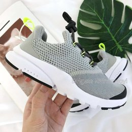 Summer Shoes Kids Australia - Hot sale Discount boys Summer gray Running Shoes kids grey Sports Shoes girls red outdoor sneakers EU28-35 chaussures de course Enfant