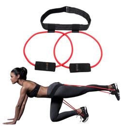 Pedal Fitness Australia - Butt Resistance Bands System Pedal Exerciser Fitness Rubber Belt-Lift Women Glute & Lower Body Muscles Shape Fitness Exercise