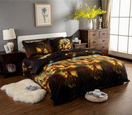 $enCountryForm.capitalKeyWord NZ - Bedding Outlet Wolf Sets 1Pcs Duvet Cover,1Flat Sheet 2Pcs Pillowcase Cool Bed Linen Printed Full Queen King Set E
