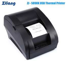 $enCountryForm.capitalKeyWord Australia - Zjiang ZJ-5890K Mini 58mm Receipt Thermal Printer 90mm S USB Port Compatible With ESC   Thermal Line Printing