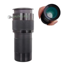 Wholesale 2inch X ED Barlow Lens for Astronomical Telescope Eyepiece FMC Coated ED Glass Lens Aluminum Frame with quot to quot Adapter