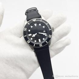 $enCountryForm.capitalKeyWord Australia - Hot Sale Mens Tuddor Automatic Mechanical Black Leather Strap Men Watches Male Wrist Watch Free Shipping