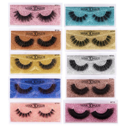 FreeShipping ePacket New Real 3D Mink Eyelashes Mink Lashes False Eyelashes Soft Natural Short Thick Fake Eyelash Eyelashes Extension 666 on Sale