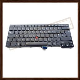 Ingrosso Tastiera originale UK Laptop 01AX339 per IBM Lenovo Thinkpad T440 T440S T431S T440P T450 T450S T460 Con retroilluminazione Stick di puntamento