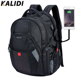 $enCountryForm.capitalKeyWord Australia - KALIDI Waterproof Backpack Men USB Charging Larger Travel School Bags Knapsack Laptop Backpack 17.3 Inch For Alien Rucksack MaleMX190903