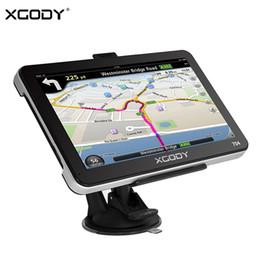 "Gps Car Navigation Europe Map Australia - XGODY 7"" Car Truck GPS Navigation 128M+8GB Navigator GPS Bluetooth Reverse Camera Sat Nav Russia Navitel 2018 Europe AU Free Map"