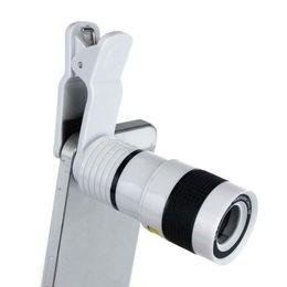 $enCountryForm.capitalKeyWord UK - Universal 8x Zoom Optical Phone Telescope Portable Mobile Phone Telephoto Camera Lens and Clip for iphone smart phone