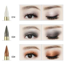 Matte Eyeliner Pens Australia - 2019 Newly Stytle Women Beauty Waterproof Black Eyeliner Pen Makeup Cosmetics Glitter Shimmer Eyeshadow Makeup Tool