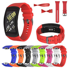 Wholesale fitness gears for sale – custom Silicone Watch band For Samsung Gear Fit2 Pro fitness Watch bands Wrist Strap For Samsung Gear Fit SM R360 Bracelet
