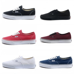 2019 Vans Athentic Classic Old Skool Canvas Mens Skateboard Designer Sports  Running Shoes For Men Sneakers Women Casual Trainers 683b32545