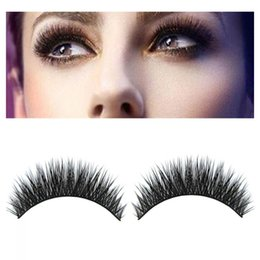 $enCountryForm.capitalKeyWord NZ - 1 Pair New Luxurious Real Mink Natural Thick Long Fake Eye Lashes False Eyelashes Extension