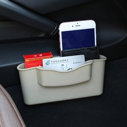 car storage garage UK - Car Seat Multi-Function Receptacle Box Seat Slot Content Box To Receive Sewing Box Garbage Leakage Prevention Simple And Generou Storage Bas