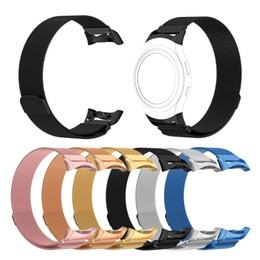 $enCountryForm.capitalKeyWord Australia - Stainless Steel Bracelet Milanese Magnetic Loop Band For Samsung Gear Fit 2 Fit2 Pro SM-R360 Smart Watch Strap Belt Watchbands