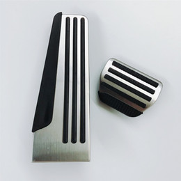 $enCountryForm.capitalKeyWord UK - Car Gas Brake Pedal Non-Slip Cover For Infiniti Q50 Q70 Q70L QX50 QX70 2014-2018 Stainless Steel Rubber Accelerator Accessories