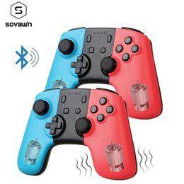 Pc dual joystick online shopping - Wireless Gamepad Controller For Switch Bluetooth Vibration Remote Console Gamepad Joystick For PC Dual Motors Shock