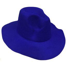 5f85098f415 Pink Sun Hats Wholesale UK - Elegant Women Vintage Retro Wool Floppy Wide  Brim Cloche Hat