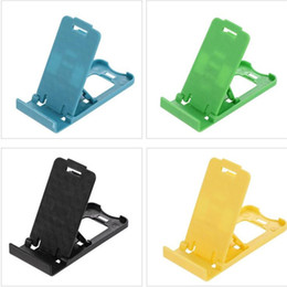TableT phone foldable holder online shopping - Lazy phone holder Foldable Flexible Mini Mobile Phone Holder plastic Bed Display phones for Iphone xs Tablet Samsung Galaxy
