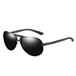 Top Designer Sunglasses Brands Australia - Top Men's Borderless Sunglasses Men's Brand Designer Borderless Polarized Sunglasses Polarized Color Film Driving UV Protection Sunglasses