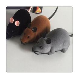 $enCountryForm.capitalKeyWord Australia - Pet Gift Remote Control Mouse Wireless For Cat Dog Pet Toy Novelty Gift Funny Remote Control Pet Toys RC Rat Fun
