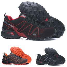 Mens grounding shoes online shopping - Cheap Salomon Cross Sense Ultra runner Soft Ground wings fashion Running Shoes sneaker man jogging Athletic Shoes Mens Sports Sneaker