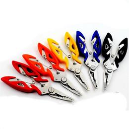 $enCountryForm.capitalKeyWord Australia - Fishing Plier Scissor Braid Line Lure Cutter Hook Remover Tackle Tool Cutting Fish Use Tongs Scissors Fishing Pliers CT0156