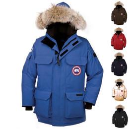 Black rivet jackets men online shopping - man Canada New Arrival Sale Men s Guse Chateau Black blue Down Jacket Winter Coat Parka Sale With Outlet XS XXXL