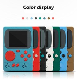 $enCountryForm.capitalKeyWord NZ - Hot Video Game Console 8 Bit Retro Pocket Handheld Game Player 198 Classic Games Best Gift for Child Nostalgic Player