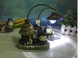 Dragon Home Australia - Dragon Cat Miyazaki Hayao Nightlight Creative Resin Decoration Animation Forest Crafts Home Desktop Arrangements