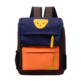 $enCountryForm.capitalKeyWord Australia - Creative Cartoon Bear Toddler backpack Anti-lost kindergarten backpacks school bag for Baby boys girls Nursery Backpack