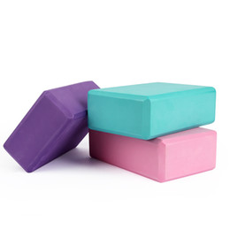 exercise foam blocks Australia - Yoga Block Props Foam Brick Stretching Aid Gym Pilates Yoga Block Exercise Fitness Sport best at home workout equipment