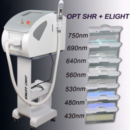 Discount ipl hair removal systems - New Powerful Hair Removal System IPL SHR Elight OPT IPL machine laser hair removal machine CE approved