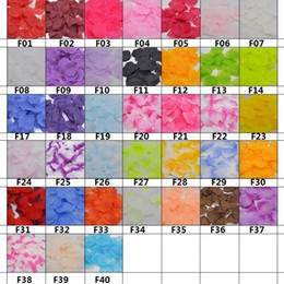 $enCountryForm.capitalKeyWord Australia - 1000Pcs Lot 5cm DIY Artificial Flowers Petals Silk Rose Petals Leaves Wedding Decoration Party Decor Festival Table Decor