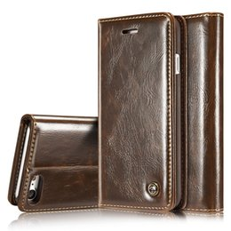$enCountryForm.capitalKeyWord Australia - Leather Case For iPhone 5 5S SE 8 7 Plus 6 6S Plus Case Magnetic Card Wallet Cover For iPhone X XR XS Max Flip Phone Case
