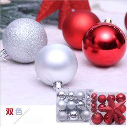 $enCountryForm.capitalKeyWord Australia - 20 Christmas Tree Decoration Balls Heterosexual Balls Christmas Party Hanging Decoration Family Gift