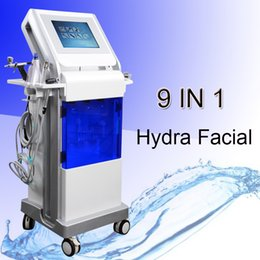 diamond peel facial 2019 - Multifunction hydra diamond dermabrasion facial sprayer machine PDT LED light therapy hydrodermabrasion machine skin cle