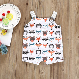e1f1da8b6b96 Baby Clothes 2019 New Summer Toddler Infant Newborn Baby Girls Boys Romper  0-24M Sleeveless Cartoon Animal Jumpsuits Sunsuit Playsuit Outfit