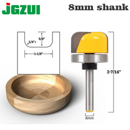 "bowl cutter NZ - 1-1 8"" Diameter Concave Radius Bowl & Tray Shaping Router Cutter Bit - 8mm Shank Woodworking Power tools"
