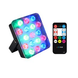Usa Lamps UK - 2019 New 17 LED Par Light Remoto Control RGB Full Color LED Stage Lighting KTV Wedding Party DJ Xmas Holiday Projector Lamp