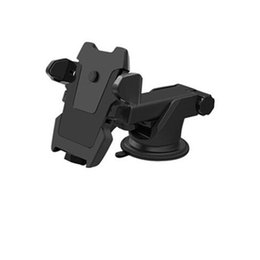 Car Phone Holders For Iphone UK - One Touch Car Mount Long Neck Universal Windshield Dashboard Mobile Phone Holder Strong Suction For Samsung S8 Plus Iphone 8 X Plus
