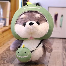 hot doll dogs NZ - 20180513 Husky Dog Pillow Animal Collectible Plush Toys Photo Props Hot Toys Dolls Lovely Birthday Gifts